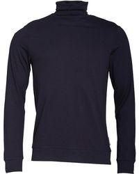 French Connection - Roll Neck Long Sleeve Top Marine - Lyst