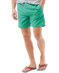 Duck and Cover - Swenson Swim Shorts Vert - Lyst