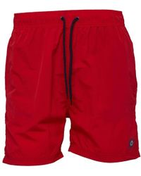 Ben Sherman - Ipanema Swim Shorts Red - Lyst