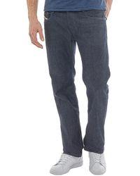 DIESEL - Zatiny 0088z Bootcut Jeans Dark Blue - Lyst