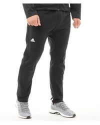 adidas - Ekit Snap Basketball Trousers Black/white - Lyst