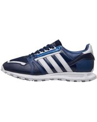 3774a771e4f62 adidas Originals - X White Mountaineering Racing 1 Trainers Collegiate Navy footwear  White footwear
