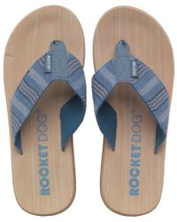 Rocket Dog - Adios Thomas Sandals Light Blue - Lyst