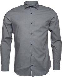 Jack & Jones - Premium Jenson Shirt Dark Grey - Lyst