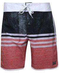 Animal - Magano Fixed Waist Board Shorts Patina Brown - Lyst