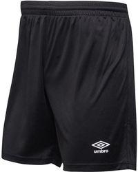 Umbro - Atlas Match Shorts Black/white - Lyst