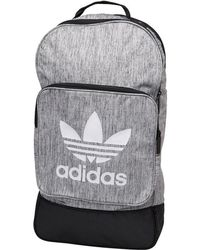 fed8ad0db2 adidas Originals Prism Rolltop Black Backpack in Black for Men - Lyst