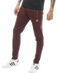 adidas Originals - Fallen Future Fitted Track Trousers Mystery Brown - Lyst