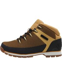 Timberland - Euro Sprint Fabric Boots Wheat - Lyst