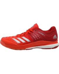 adidas - Crazyflight X Volleyball Shoes Scarlet silver Metallic energy -  Lyst b073c8f49c