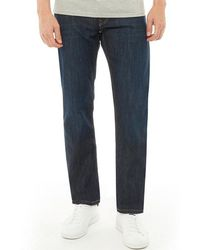 Levi's - 504 Regular Straight Fit Jeans The Rich - Lyst