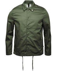 Farah - Marr Harrington Jacket Military Green - Lyst