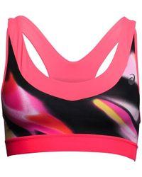 Asics | Fuzex Sports Bra Top Sea Wave Diva Pink | Lyst