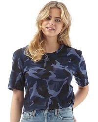 Levi's - L8 Cut T-shirt Tai Camo Navy Blazer - Lyst