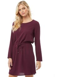 ONLY - Nova Lux Draw String Dress Port Royal - Lyst