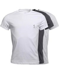 Religion - Three Pack T-shirts White/black/grey - Lyst