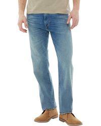 Levi's - 504 Reg Straight Fit Jeans Rivercreek - Lyst