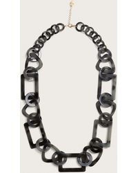 Violeta by Mango - Resin Link Necklace - Lyst