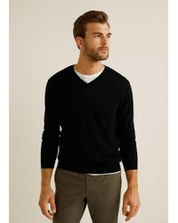 Mango - 100% Wool Sweater - Lyst