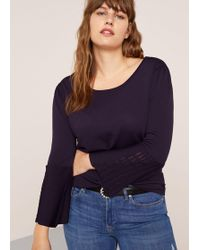 Violeta by Mango - Flared Sleeves Sweater - Lyst