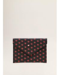 Mango - Envelope Cosmetic Bag - Lyst