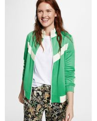 Violeta by Mango - Contrasted Panels Jacket - Lyst