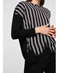 Mango - Contrasting Design T-shirt - Lyst