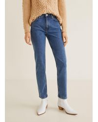 Mango - Straight Jeans Anna - Lyst