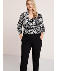 Violeta by Mango - Straight Suit Trousers - Lyst