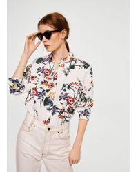 Mango | Pocket Linen Shirt | Lyst