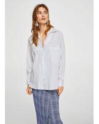 Mango - Shirt - Lyst