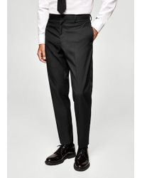 Mango - Slim-fit Suit Trousers - Lyst