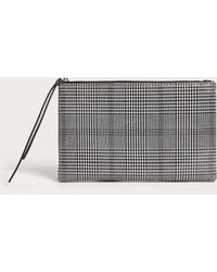 Violeta by Mango - Medium Checked Cosmetic Bag - Lyst