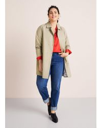 Violeta by Mango - Buttons Cotton Trench - Lyst