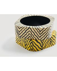 Mango - Pack Wooden Bracelets - Lyst