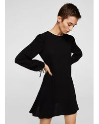 Mango - Sleeve Detail Dress - Lyst