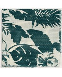 Violeta by Mango - Jungle Printed Foulard - Lyst