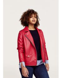 Violeta by Mango - Faux Leather Jacket - Lyst