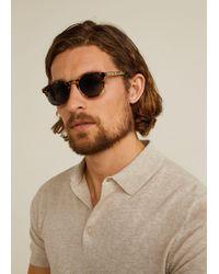 Mango - Tortoiseshell Retro Sunglasses - Lyst