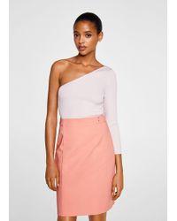 Mango - Pencil Skirt - Lyst