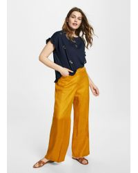 Violeta by Mango - Pineapple Cotton T-shirt - Lyst