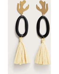 Violeta by Mango - Tassels Pendant Earrings - Lyst