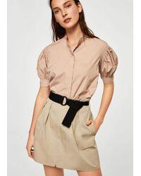 Mango - Skirt - Lyst