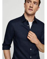 Mango - 100% Linen Slim-fit Shirt - Lyst
