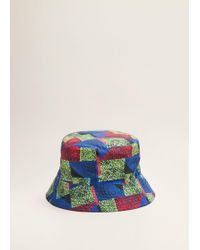 Mango - Reversible Mistral Bucket Hat - Lyst