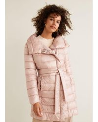 Mango - Quilted Jacket - Lyst