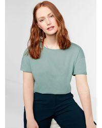 Violeta by Mango - Organic Cotton T-shirt - Lyst