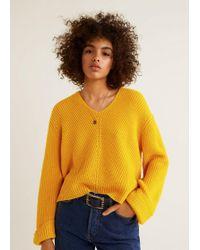 Mango - Chunky-knit Jumper - Lyst