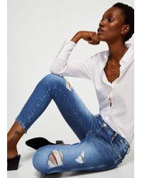 Mango - Isa Skinny Jeans - Lyst