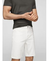 Mango - 5 Pocket Bermuda Shorts - Lyst